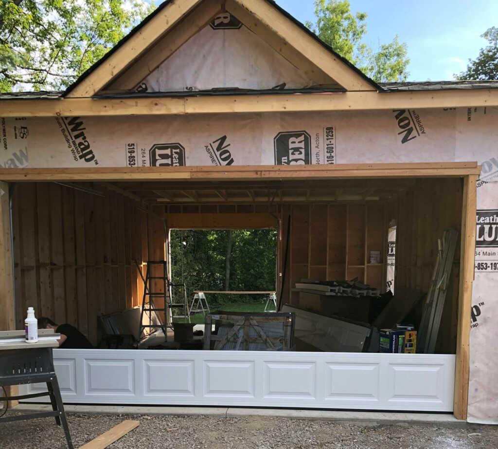 Garage Door Installation Project Brampton