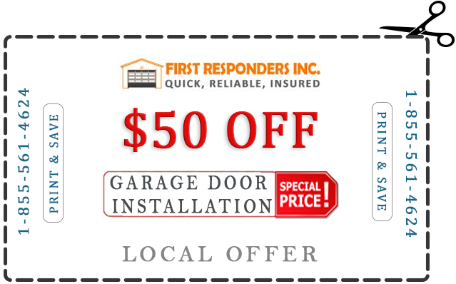 garage door pricing offer image