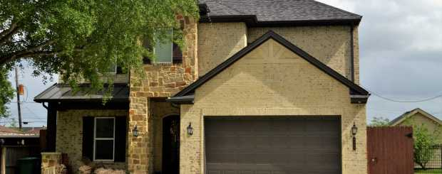 Photo of garage door installation