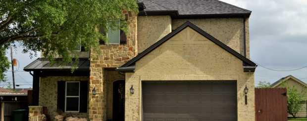 Photo of garage door installation